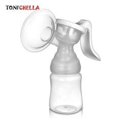 MyXL Krachtige Handkolf Babyvoeding Tepel Zuig Melk Pompen BPA Gratis Silicone Borsten Pompen Fles Zuigen T0098