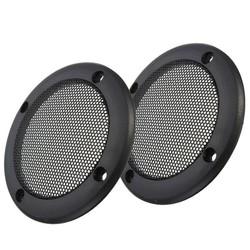 MyXL LEORY3.5 inch Decoratieve Tweeter Audio Speaker Cover Cirkel Metalen Grille Covers Trim Speaker Accessoire