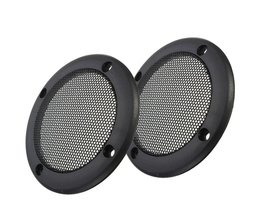 LEORY3.5 inch Decoratieve Tweeter Audio Speaker Cover Cirkel Metalen Grille Covers Trim Speaker Accessoire