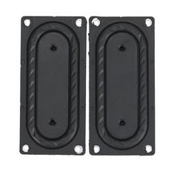 MyXL GHXAMP 2 STKS Bass Radiator Passieve Radiator Speaker Rubber membraan Vbration Plaat 85*40 MM Voor Boss Bluetooth Speaker DIY