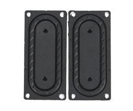GHXAMP 2 STKS Bass Radiator Passieve Radiator Speaker Rubber membraan Vbration Plaat 85*40 MM Voor Boss Bluetooth Speaker DIY