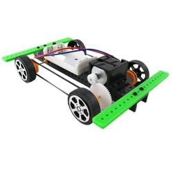 MyXL Collectie Zelf vergadering DIY Mini Batterij Aangedreven Auto Model Kit Kinderen Kids Educatief SpeelgoedDrop