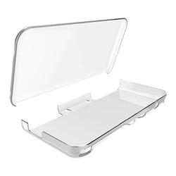 MyXL Gamelink 10 stks Crystal Clear Beschermende Hard Guard Case Cover Skin Shell voor2DS XL