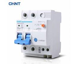 CHINT Aardlek-schakelaar C20 Huishoudelijke Met Elektrische Bescherming Lucht Schakelaar Stroomonderbreker NBE7LE 2 P 20A