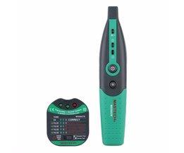 MASTECH MS5902 Stroomonderbreker LED Tester Finder CATII 600 V Zeroline 220 V EU