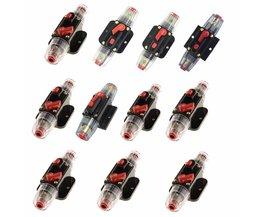 12 V-24 V 20A 30A 40A 50A 60A 80A 100A 150A DC Auto Fiets Stereo Audio Circuit Breaker Reset Zekering Inverter