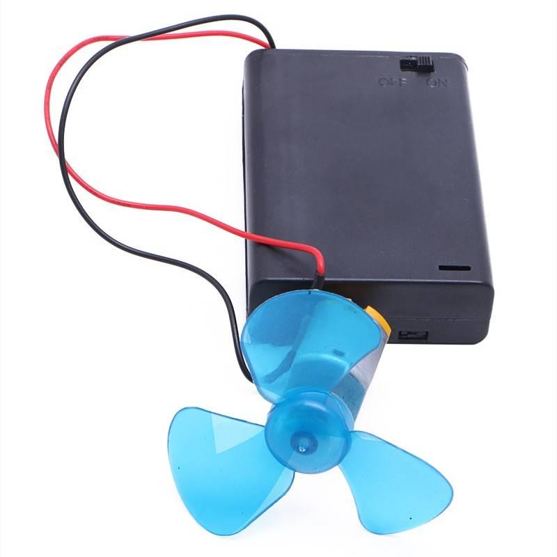 Elektrische Generator Motor Energie Windturbine Power Mini Kids LED Onderwijs DC AC In Stock-Y122