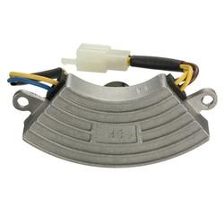 MyXL Grey eenfase 2KW Automatische Voltage Regulator Benzine Generator AVR Aluminium ShellKoop