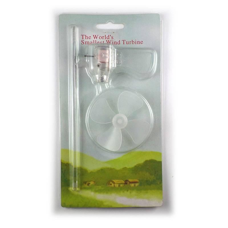 Windgenerator Turbine LED Teaching Tools Sample Model Kleinste Mini 360 graden