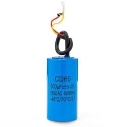 MyXL Staring condensator twee draden CD60 500 uF 250 V zware elektrische motor starten condensator