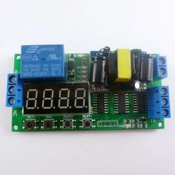 MyXL IO23B01 AC 110 V 220 V Converter Multifunctionele Self-lock Relais PLC Cycle Timer Module Vertragingstijd Schakelaar
