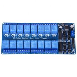 MyXL 5 V 16 Kanaals Relais Board Module Optocoupler LED voor Arduino PiC ARM AVR