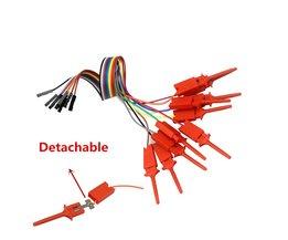 Smart Elektronica 10 Stks Test Haak Clip Voor Logic Analyzer USB Saleae 24 M 24 MHz 8CHCollectie g