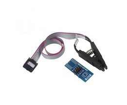 SOIC8 SOP8 Flash Chip IC Test Clips Socket Adpter BIOS/24/25/93 Programmeur