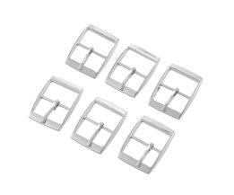 Hoomall 30 Stks Metalen Schoenen Gespen Clips Naaien Gespen Voor Tassen Naaien Accessoires 25x19mm Silver Tone