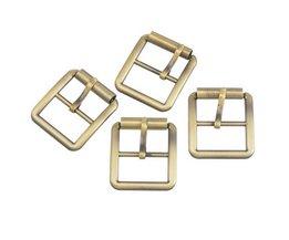 Hoomall 10 Stks Metalen Schoenen Gespen Clips DIY Schoenen Tassen Riem Gespen Naaien Kledingstuk Accessoires Brons Tone 30mm x 27mm