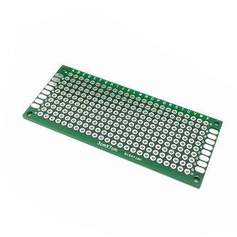 5 stks 3x7 cm FR4 Prototype PCB Board Dubbelzijdige Printplaat DIY Universele Fiberglass Protoboard