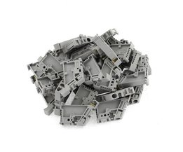 WSFS50 Stks 35mm DIN Rail Terminal Blok End Stopper Montage Clips