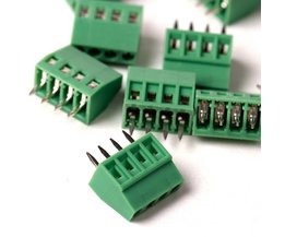 E-Simpo 8 stks/partij 2.54mm Pitch PCB Schroefklemmenblok 4 P 150V6A UL, 130V8A IEC, CE Rohs