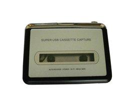 Super USB Cassette Capture Radio Speler Draagbare USB Cassette naar MP3 Converter Capture Adapter EC007
