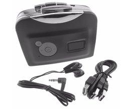 USB Cassette naar MP3 Converter Speler Converteren in USB Flash/Flash Memory/pen drive