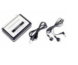 MP3 cassette capture naar MP3 USB Cassette Capture Tape naar PC, Super USB Cassette MP3 Converter Cassette-to-MP3 Capture EZ218