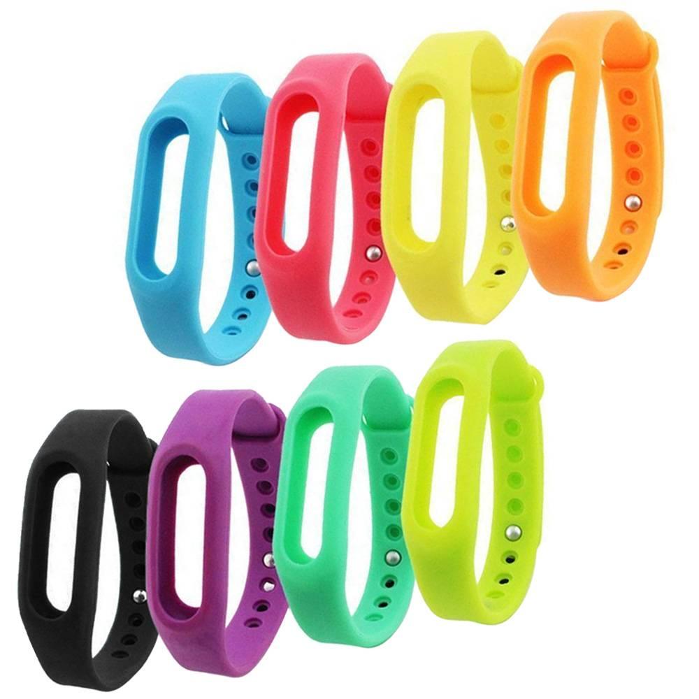 Gosear 8 st TPU Vervanging Horlogeband Smart Horloge Band Armband voor Xiaomi Xiao Mi Band Xiomi Mib