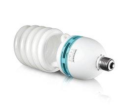 Neewer 85 W 220 V 5500 K Tri-fosfor Spiraal CFL Daglicht Evenwichtige Gloeilamp in E27 Socket voor foto en Video Studio Verlichting