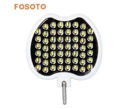 Fosoto FT-54 Mini LED Video Licht Warm Wit Licht Selfie Enhancing LED Ring Light Lamp Flash Voor Mobiele Telefoon Tafel Camera