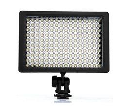 Lightdow LD-160 9,6 W Verzonken LED Illuminator 160 5400/3200 K Dimbare voor Canon Camera
