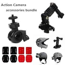 MyXL Fietshelm Accessoires kit voor Sony RX0 FDR X3000 X1000 AS300 AS200 AS100 AS50 AS30 AS20 AS15 AS10 AZ1 mini POV Action Cam