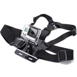 MyXL GOLDFOX 1 st Borstband Mount voor Gopro hero 5 4 voor Xiaomi yi 4 K Action camera Borst Mount Harness voor EKEN H9/H9R SJCAM SJ4000