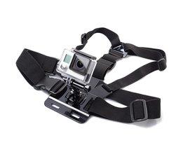 GOLDFOX 1 st Borstband Mount voor Gopro hero 5 4 voor Xiaomi yi 4 K Action camera Borst Mount Harness voor EKEN H9/H9R SJCAM SJ4000