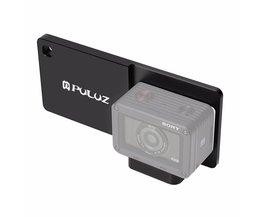 PULUZ Mobiele Telefoon Gimbal Schakelaar Mount Plaat Adapter Compatibel voor Sony RX0 Handheld Gimbal Camera Accessoires