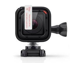 1 st Screen Covers Lens Protectors Film Beschermende Waterdichte Lens Film Set voor GoPro Hero 5 Sessie en Hero 4 sessie