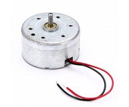 Zilver Micro 300 Solar Motor DC 3 V 4.5 V 5 V Voor Wetenschappelijke Hobby Speelgoed DIY Accessoires