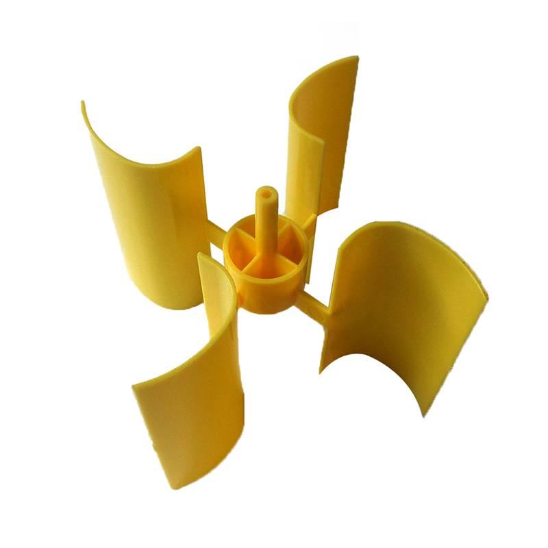 1 Set Mini Windturbine Blade Verticale As Micro-generator Blades Kleine Praktische
