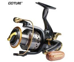 Goture Waterbestendig Spinning Reel 5.2: 1 9BB + 1RB Lange Casting Lake Feeder Karpervissen Reel SW 5000 6000