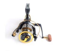Meest Populaire SW50 Glad Rear Drag Spinning Reel Visserij-reel 9 1 BB Karper Aas Runner Visserij-reel Voor en reel voor vissen