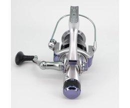 Aluminium Spool Reel Fishing Baitrunner Gratis Runner KM50 60 Spinning Reel