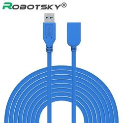 MyXL 3 M 5 M USB 3.0 Man-vrouw Verlengkabel USB 3.0 Data Sync Fast Speed Cord Connector voor Telefoon Laptop PC Printer Hard Disk