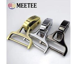 2 stks Clip Gespen Schroef Diy Side Meesleuren En Handig Installatie Pakket Metalen Gesp Man Bag Accessoires Hardware F2-14