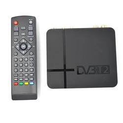 MyXL HD DVB-T2 Digitale Terrestrial Ontvanger Set-top Box met Multimedia Speler H.264/MPEG-2/4 Compatibel met DVB-T voor TV HDTV
