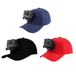 MyXL HONGDAK Voor GoAccessory Verstelbare Canvas Zonnehoed Cap voor Hero 5 4 3 SJCAM SJ7 SJ6 M20 Eken H9 H9R H8 Yi 4 K Sport Action Camera