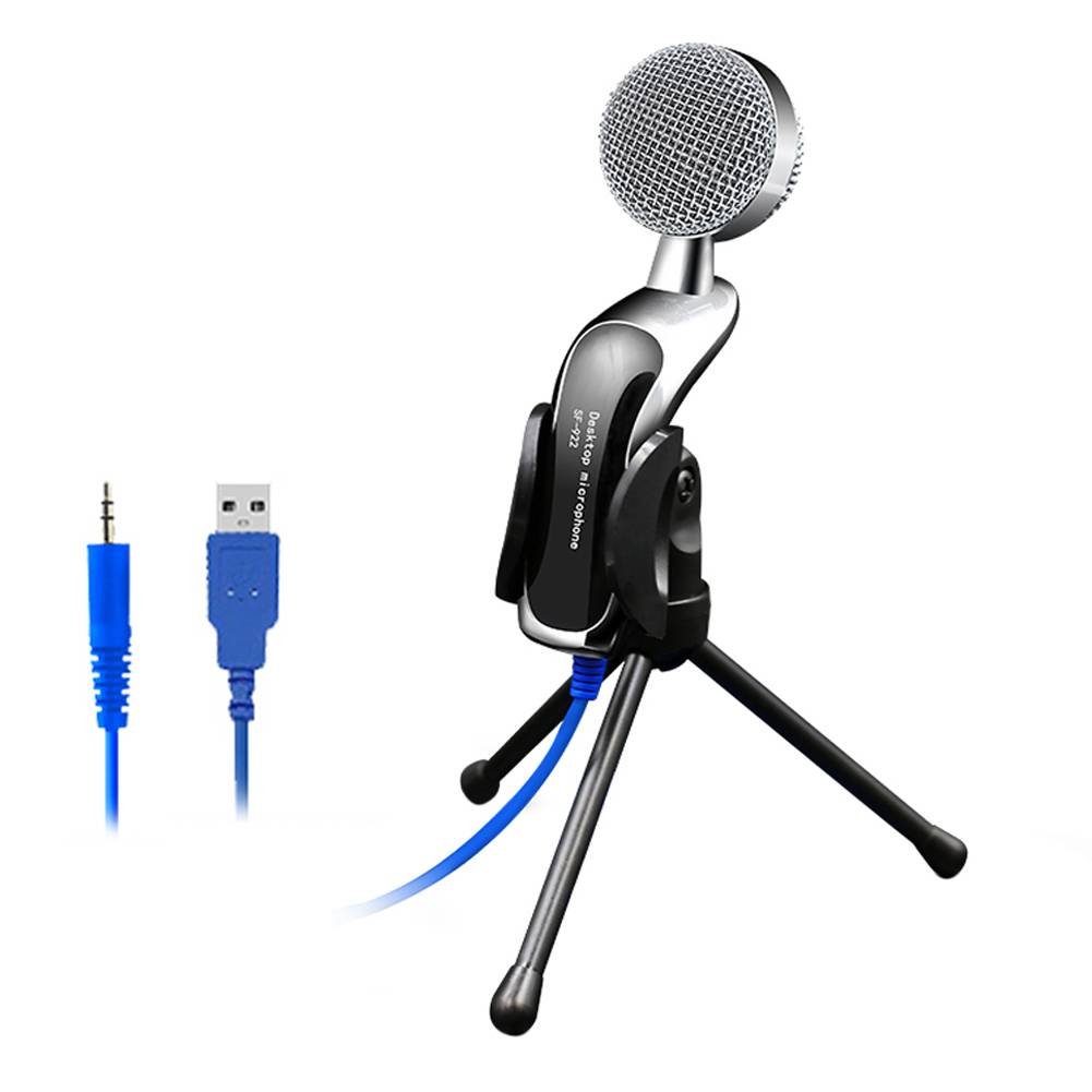 SF-922B Professionele Geluid USB Condensator Microfoon Podcast Studio Voor PC Laptop Chatten Audio O