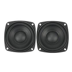 MyXL GHXAMP Voor 3.5 inch 4 inch 5 inch 83 MM Passieve Radiator Speaker Woofer Trillingen PU Voor DIY Subwoofer Box Bass Radiator