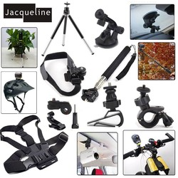 MyXL Jacqueline voor Kit Accessoires Mount Set voor Sony Action Cam HDR AS300 AS50 AS20 AS200V AS30V AS100V AZ1 mini FDR-X1000V/W 4 k