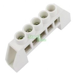 MyXL 3 STKS Witte Brug Ontwerp Nul Lijn 5 Positie Koperen Aarding Strip Blokaansluiting