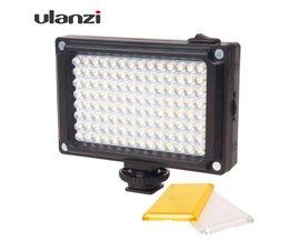 Ulanzi 112 LED Telefoon Video Licht Fotografische Verlichting voor Youtube Live Streaming Dimbare LED Lamp Bi-kleurtemperatuur voor iPh