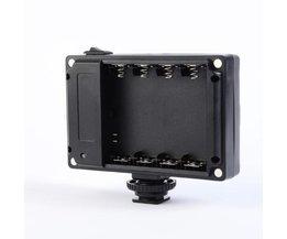 112 LED Video Light Photo Verlichting Op DSLR Camera met usb-poort lading Gratis Geel en Wit Filters voor Bruiloft foto
